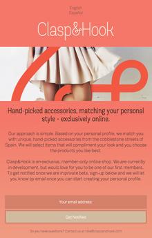 Clasp & Hook Website