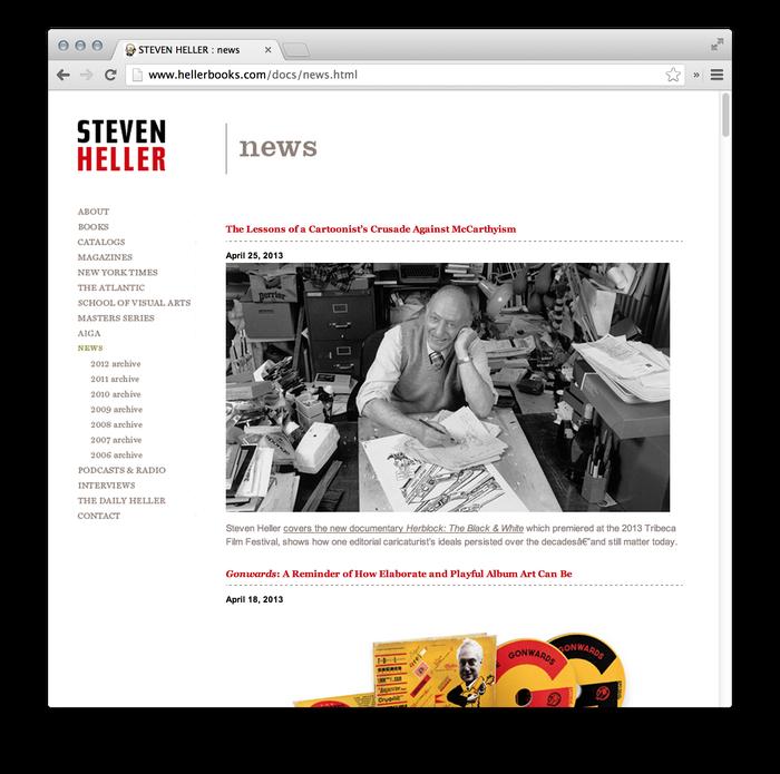 Steven Heller Website: hellerbooks.com 2
