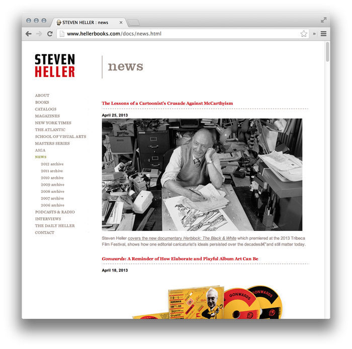 Steven Heller Website: hellerbooks.com 2