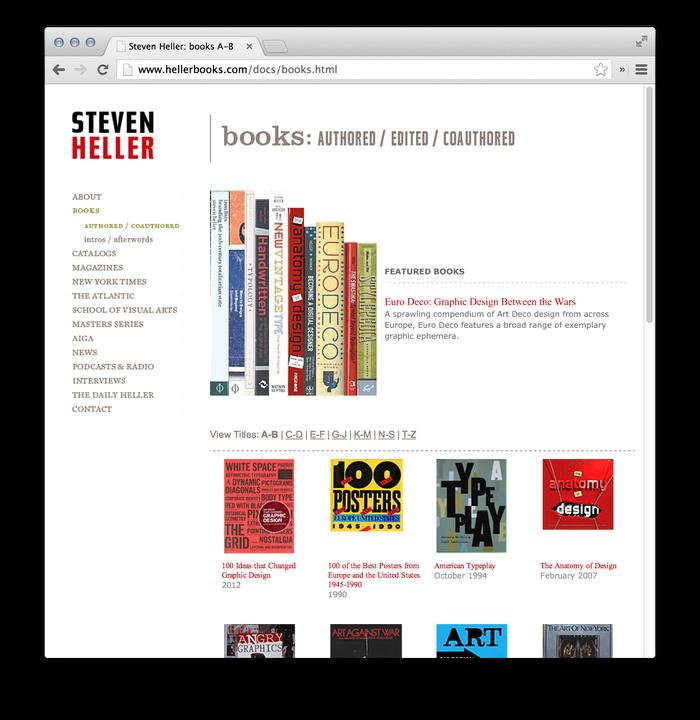 Steven Heller Website: hellerbooks.com 3