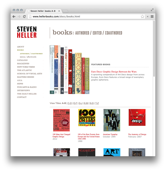 Steven Heller Website: hellerbooks.com 3