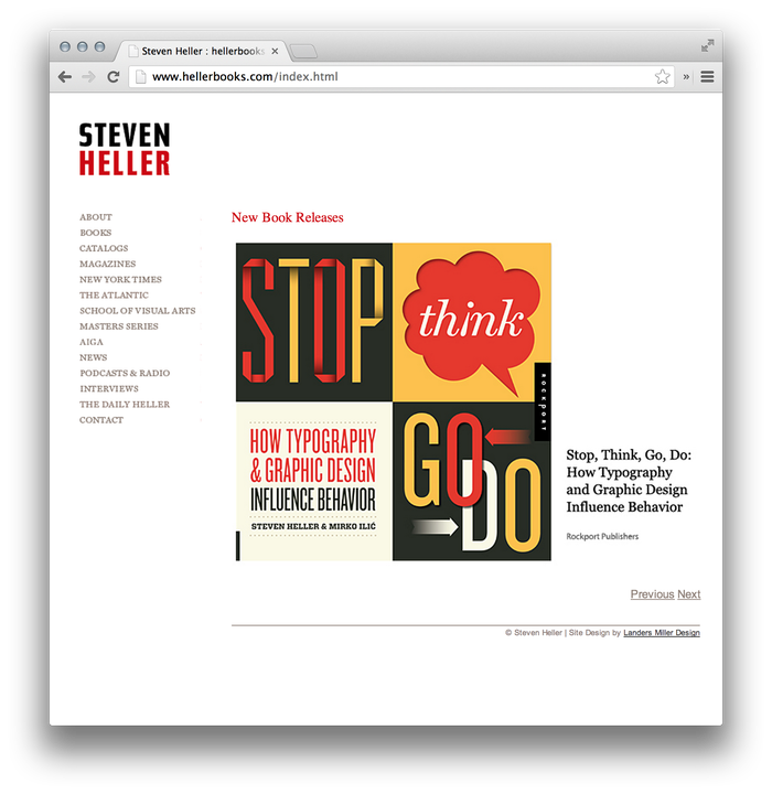 Steven Heller Website: hellerbooks.com 4