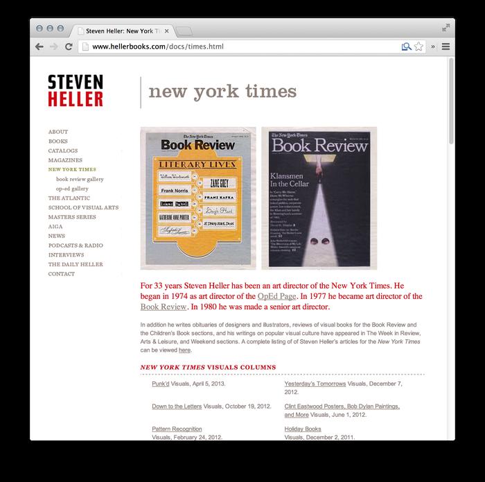 Steven Heller Website: hellerbooks.com 5