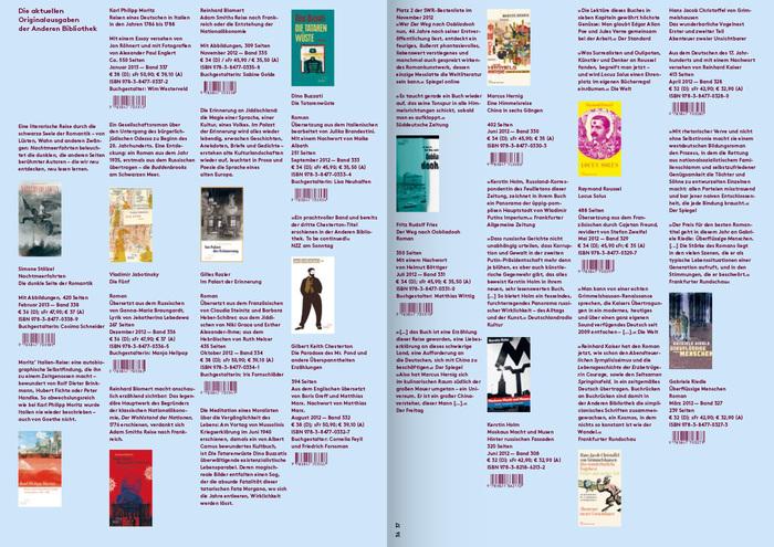 Die Andere Bibliothek – Spring 2013 Preview 7