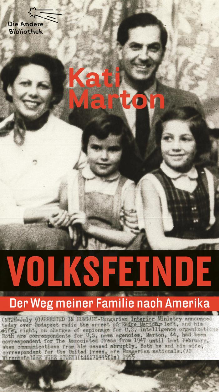 Volksfeinde by Kati Marton (Die Andere Bibliothek Edition)