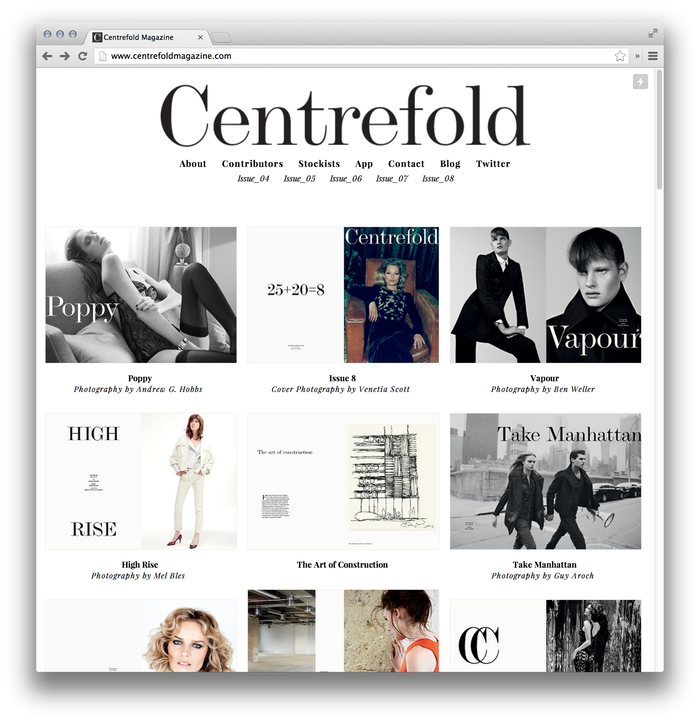 Centrefold Magazine, Issue 08 11