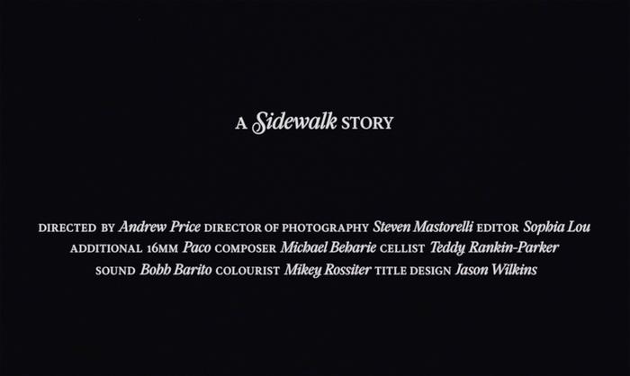 A Sidewalk Story 4