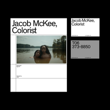 Jacob McKee portfolio website