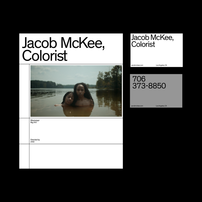 Jacob McKee portfolio website 4
