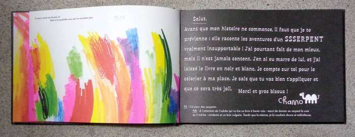 Ssserpent coloring book 7