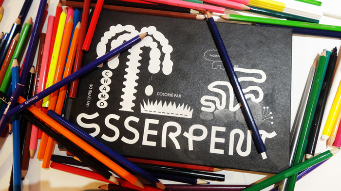 Ssserpent coloring book 1