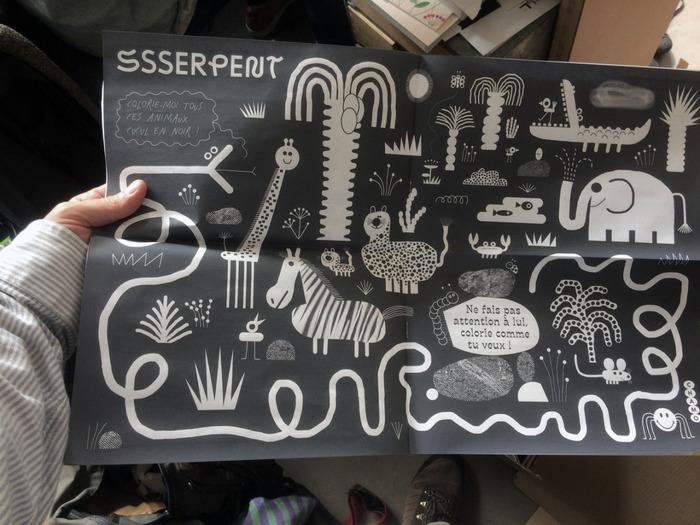 Ssserpent coloring book 10