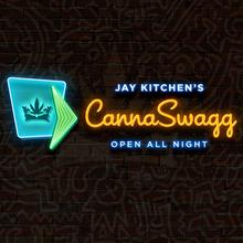 Jay Kitchen's CannaSwagg logo