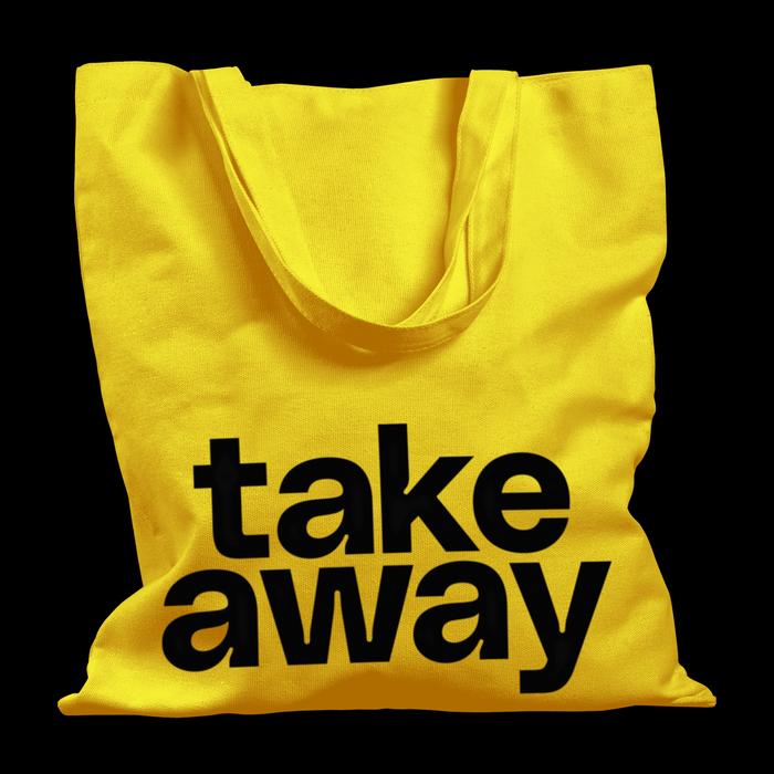 """Take Away"" tote bag"