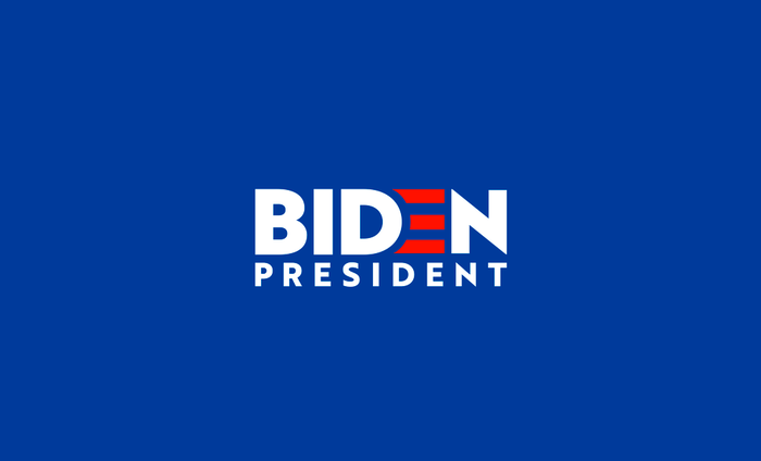 Earlier version of the campaign logo, designed by Aimee Brodbeck using .