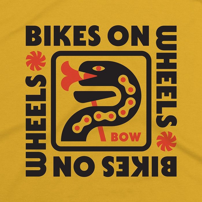 Bikes On Wheels T-shirt design 1