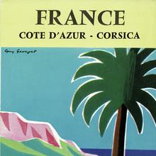France, Cote d'Azur – Corsica SNCF travel brochure (1960)