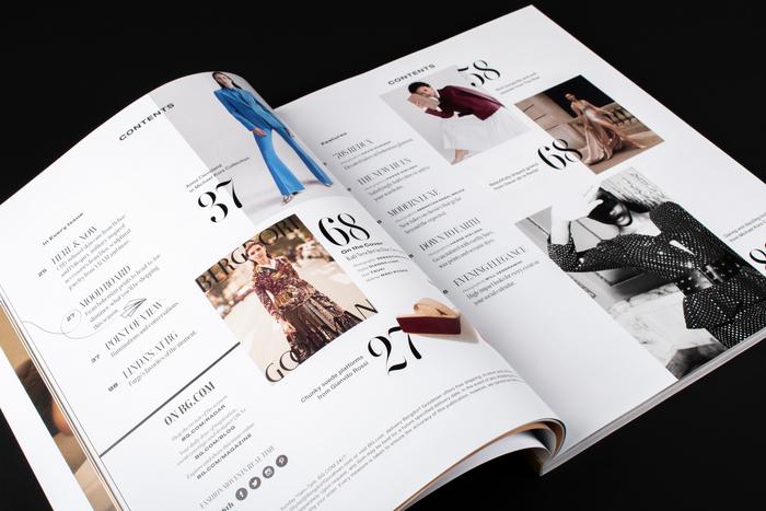 Bergdorf Goodman magazine 2019 2