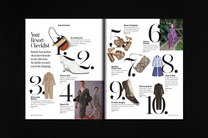 Bergdorf Goodman magazine 2019 5