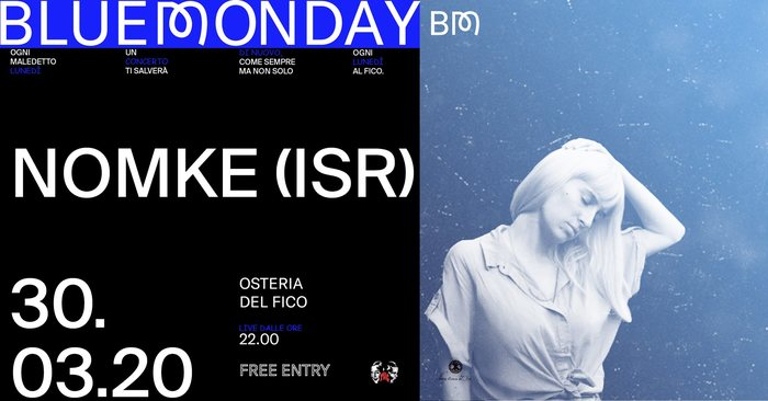 Blue Monday poster series 3