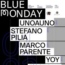Blue Monday poster series