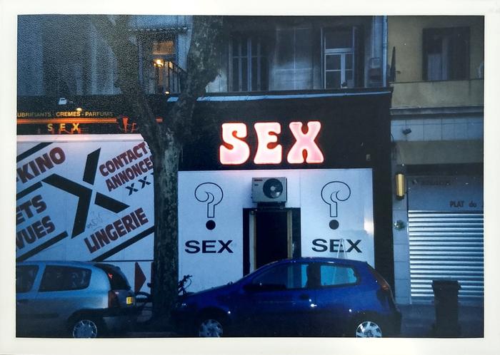 """SEX"" neon sign, Nice 2"