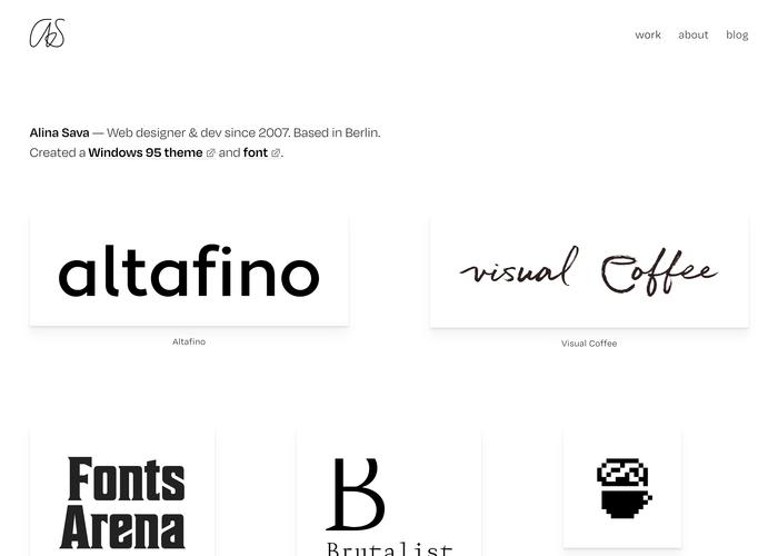 Homepage (detail).