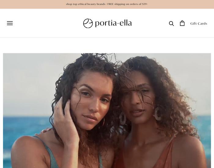 Portia-ella website 1
