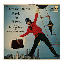 <cite>Crazy Otto's Back In Town</cite> album art