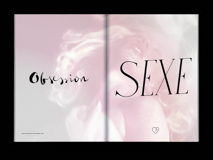 """Obsession Sexe"", with  and ."