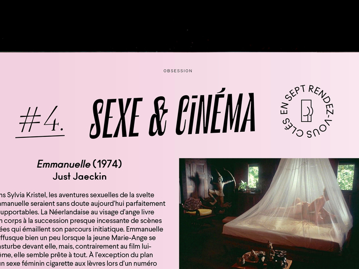 "La Septième Obsession, issue 29, ""Sexe"" 5"