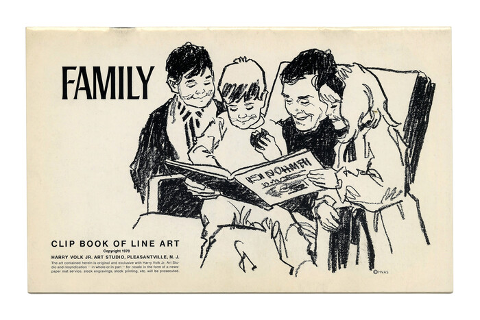 """Family"" (No. 546) ft.  (1965). Illustration by Tom Sawyer."