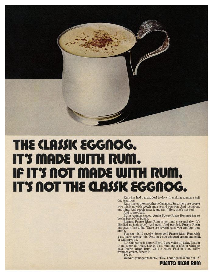 Puerto Rican Rum ad (1969)