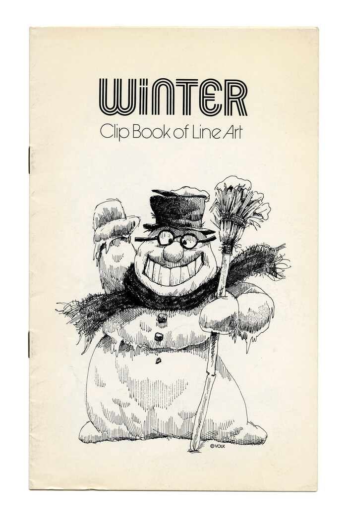 """Winter"" (No. 274) with one of the adaptations of , probably Hotline by Lettergraphics."