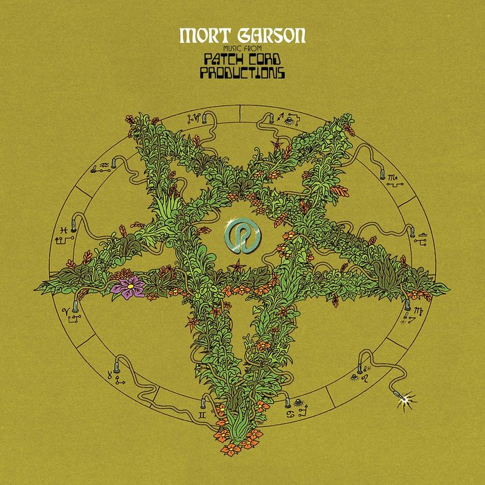 The pentagram of foliage is an homage to both Black Mass Lucifer (1971) and Garson's most famous album, Plantasia (1976).