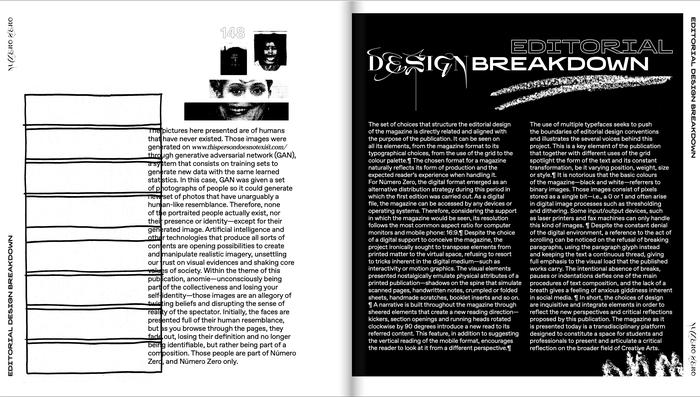 Número Zero magazine 8
