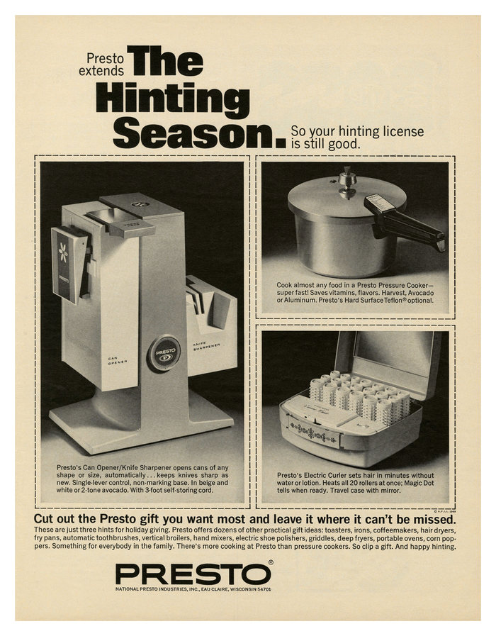 """The Hinting Season"" Presto ad"