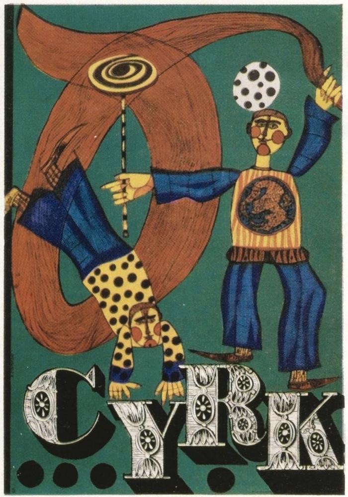 """Cyrk"" poster (1964)"