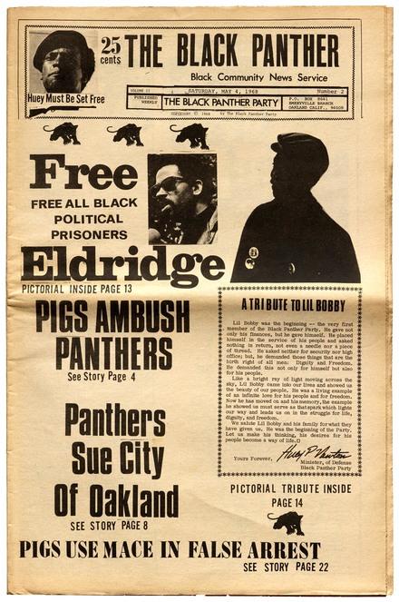 <cite>The Black Panther: Black Community News Service</cite>
