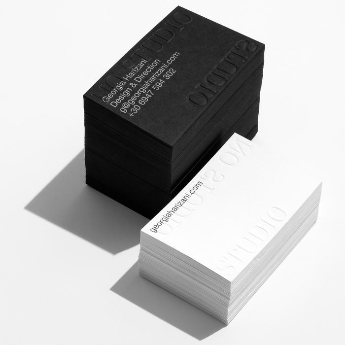 No Studio business cards 1