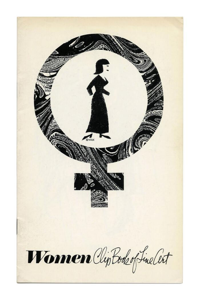 """""""Women"""" (No. 575), pairing  Italic with handwriting."""