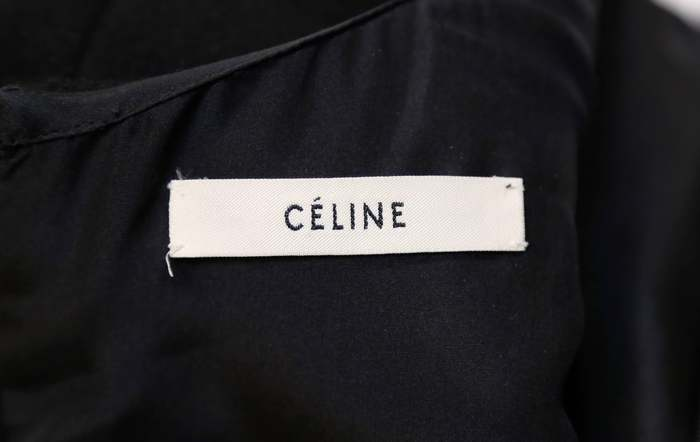 Clothing label on an item from the fall 2011 collection.
