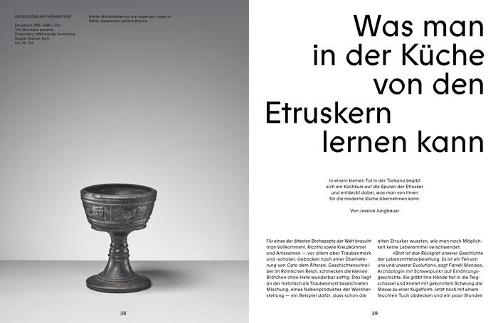 Toska – Das Magazin für etruskischen Lebensstil 8