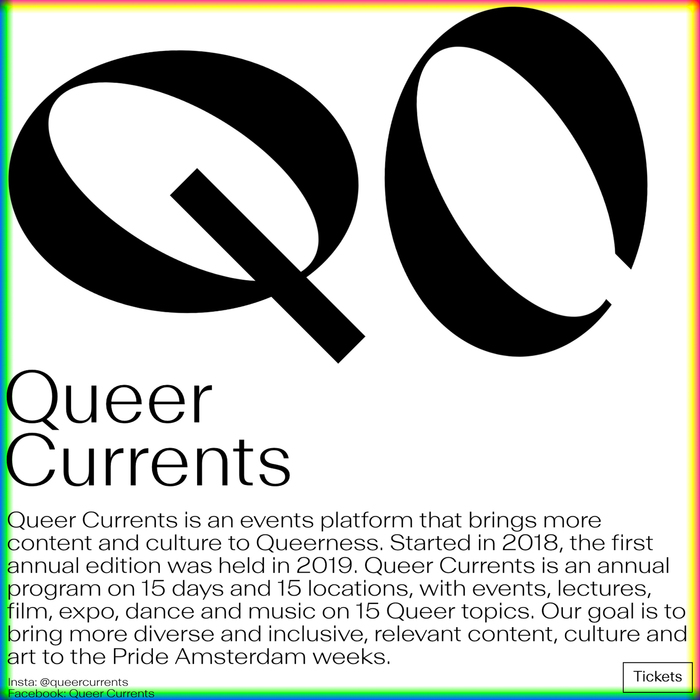 Queer Currents identity and website 4