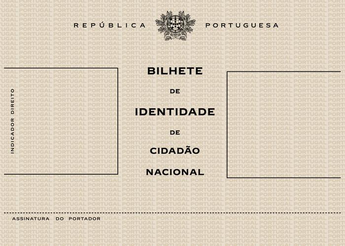 Bilhete de Identidade (Portuguese identity card), 1971–1987 1