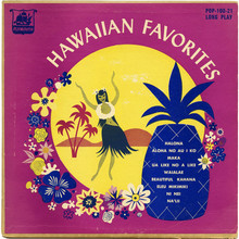 <cite>Hawaiian Favorites</cite> album art (Plymouth Records)