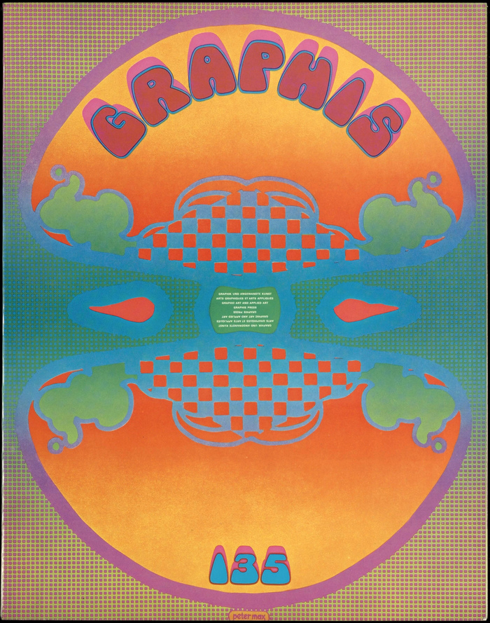 Graphis #135 cover, January 1968
