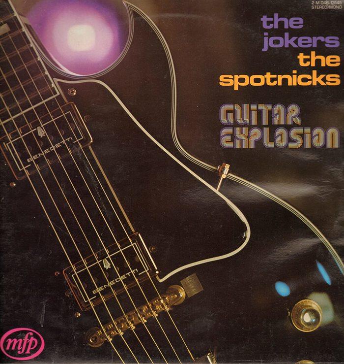 The Jokers / The Spotnicks – Guitar Explosion album art