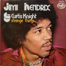Jimi Hendrix &amp; Curtis Knight – <cite>Strange Things</cite> album art