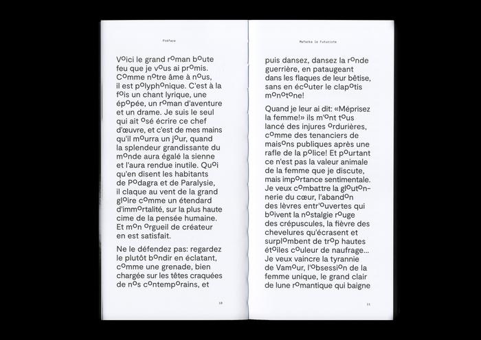 Mafarka le Futuriste, Roman Solaire (ISIA Urbino) 4